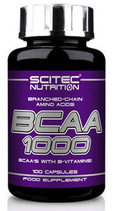 Scitec Nutrition BCAA 1000 (100 капс)