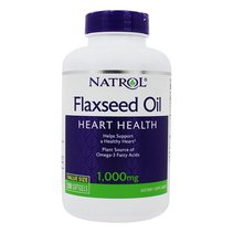 Natrol Flax Seed. Oil 1000mg (200 капс.)