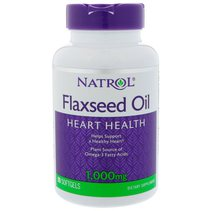 Natrol Flax Seed. Oil 1000mg (90 капс.)