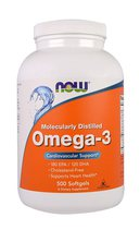 NOW Omega 3 (500 гел. капс.)