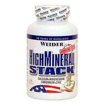 Weider High Mineral Stack (120 капс)