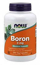 NOW Boron 3mg (100 капc)