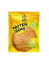 Fit Kit Protein cookie (40г) лимон-лайм