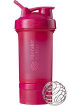 Blender Bottle ProStak 624мл + 100мл+ 150мл Full Color Pink [малиновый]