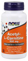 NOW Acetyl L-Carnitine 500 mg (50 капс)