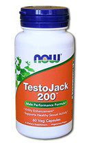 NOW Testo Jack 200 Extra Str (60 Vcaps)