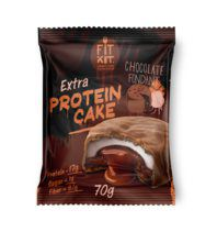 Fit Kit Protein Cake EXTRA с жидкой начинкой (70 гр) шоколадный фондан