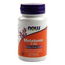 NOW Melatonin 3 mg (60 вег. капс.)