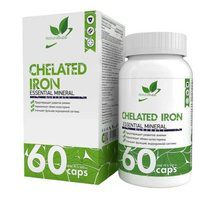 NaturalSupp Chelated Iron (60 капс)