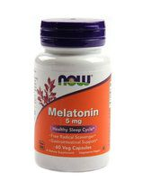 NOW Melatonin 5 mg (60 вег. капс)