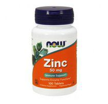 NOW Zinc Gluconate 50mg (100 таб)