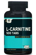 Optimum Nutrition L-Carnitine 500 mg Tabs (60 таб.)
